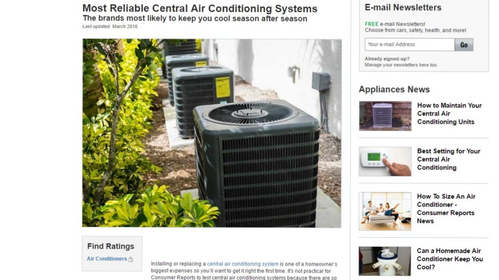 f818e2ea8f1 Most Reliable Central Air Conditioning Systems  American Standard Among The  Top Rated